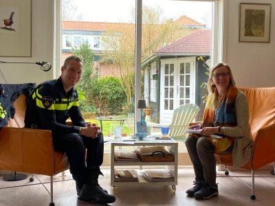 Wijkagent Den Dolder in gesprek met DenDolder.NL