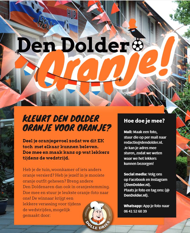 Den Dolder Oranje EK actie