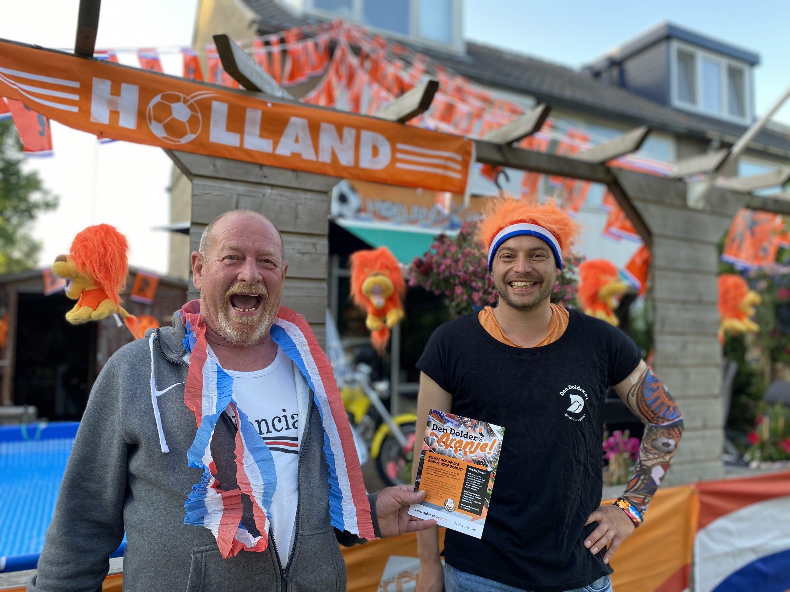 Kees de eerste winnaar EK Den Dolder Oranje Actie