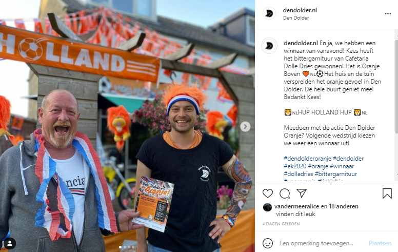 Winnaar Den Dolder Oranje 1
